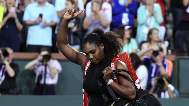Serena Williams says she has 'a lot to improve on&#039 after bowing out at Indian Wells