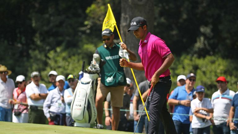 Sharma is the youngest player to lead a WGC event after 54 holes