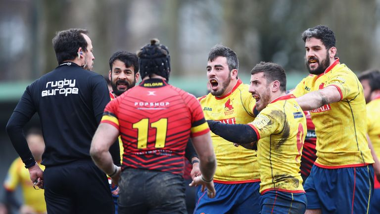 Romania, Spain appeal against RWC qualifying sanctions
