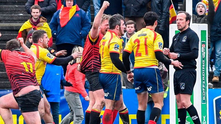 Spain demands rematch in Rugby World Cup qualifying controversy