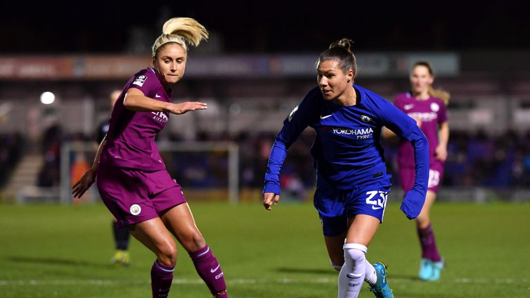 Chelsea Ladies will face Manchester City Women, if City can get past Sunderland