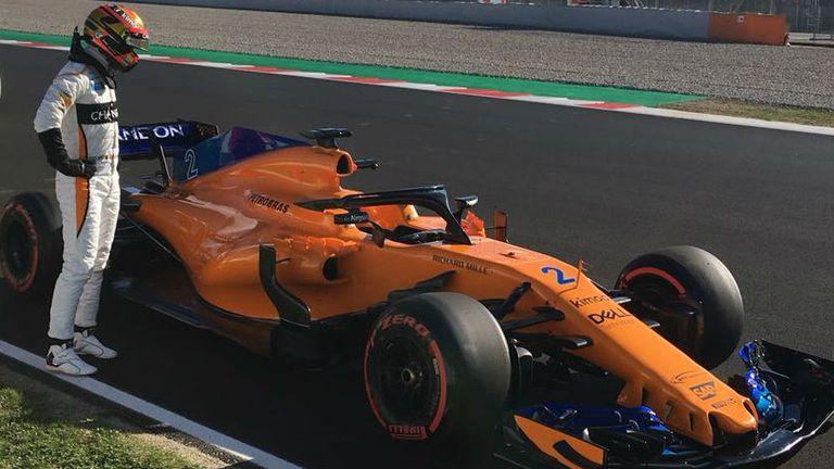F1: Ricciardo breaks Barcelona track record in testing