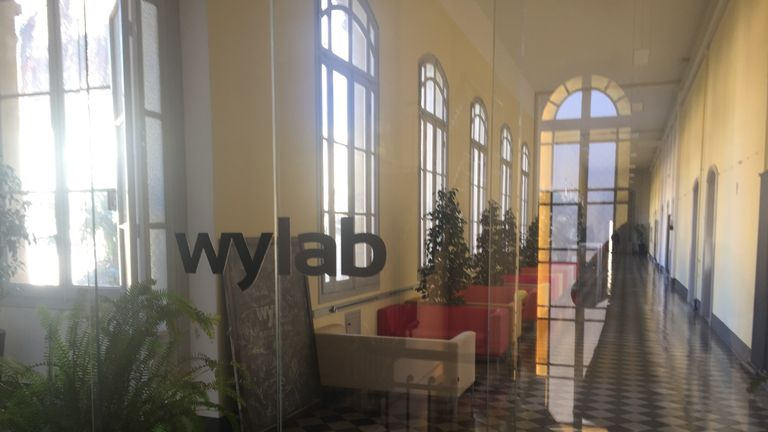 Wylab in Italy hosts other new startup companies, as well as Wyscout HQ