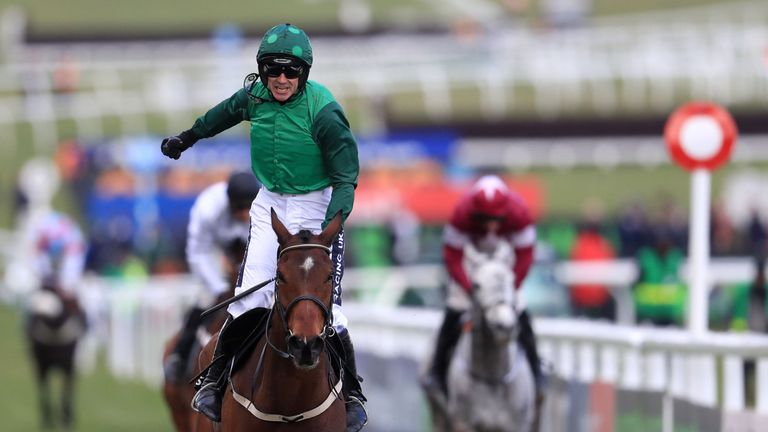 Ruby Walsh and Footpad are brilliant winners of the Racing Post Arkle