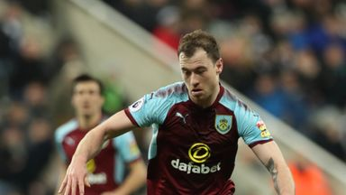 Ashley Barnes has signed a new deal with Burnley