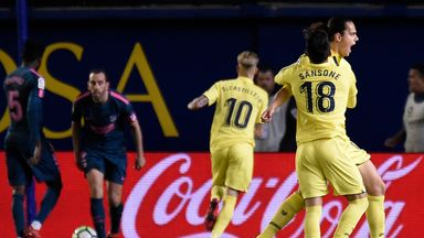 fifa live scores - La Liga round-up: Atletico Madrid dealt title blow after Villarreal loss