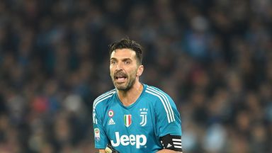 fifa live scores - Gianluigi Buffon says Juventus face an 'uphill battle' against Tottenham at Wembley