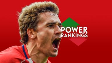fifa live scores - Atletico Madrid's Antoine Griezmann tops Sky Sports' La Liga Power Rankings