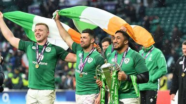 Ireland's homecoming celebrations have been cancelled due to bad weather