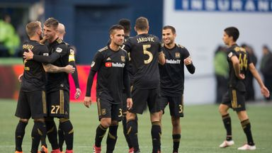 fifa live scores - MLS: Los Angeles FC win first Major League Soccer match
