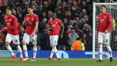 fifa live scores - Nemanja Matic says no excuse for Man Utd's Champions League exit
