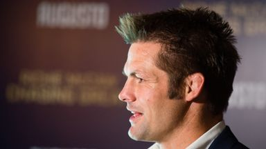 Former All Black captain and two-time World Cup winner Richie McCaw