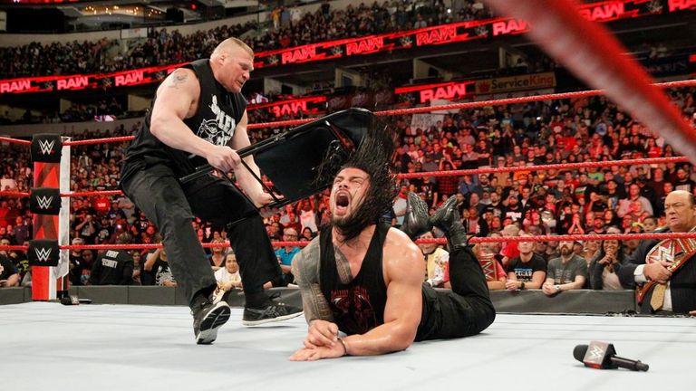 Brock Lesnar made a devastating return to WWE Raw this week
