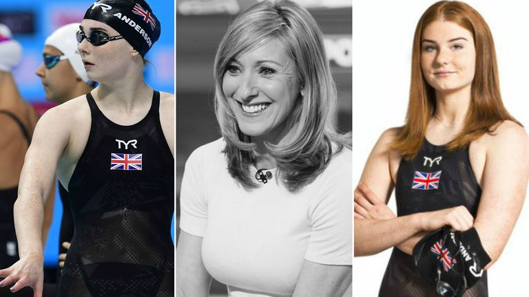 Freya Anderson is mentored by SSN presenter and ex-teacher Vicky Gomersall