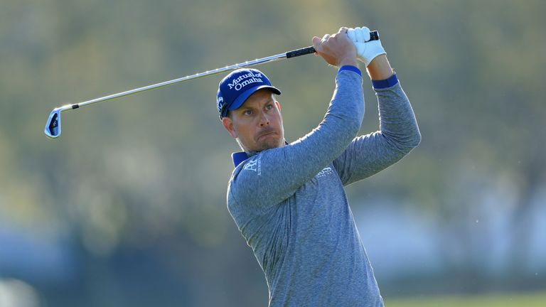 Henrik Stenson during the second round at the Arnold Palmer Invitational Presented By MasterCard at Bay Hill Club and Lodge on March 16, 2018 in Orlando, Florida.