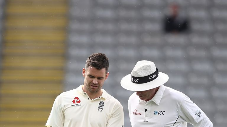 Anderson said it was difficult to bowl with the Pink ball. (SkySports)