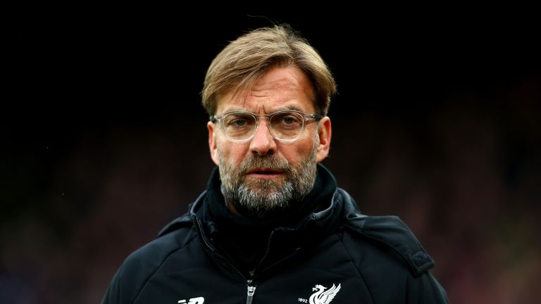Jurgen Klopp during the Premier League match between Crystal Palace and Liverpool at Selhurst Park on March 31, 2018