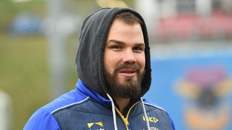 Cuthbertson was on the sideline as head coach as Leeds beat the Bulls 32-16
