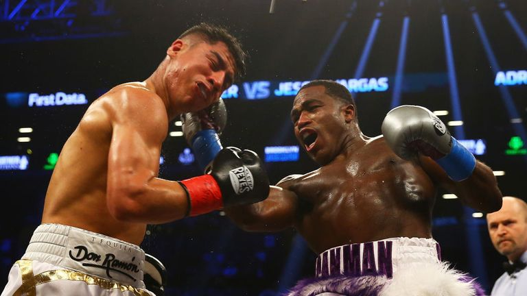Broner battled to a draw with Jessie Vargas in April