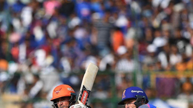 Alex Hales made a useful 45 on his IPL debut (Credit: AFP)