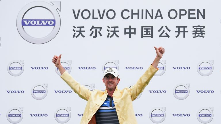 Alexander Bjork claims first win on European Tour at China Open