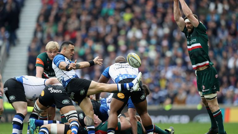 Bath Rugby's trip to Twickenham Stadium is one of Barnes' talking points