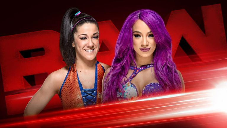 Bayley and Sasha Banks go one-on-one tonight