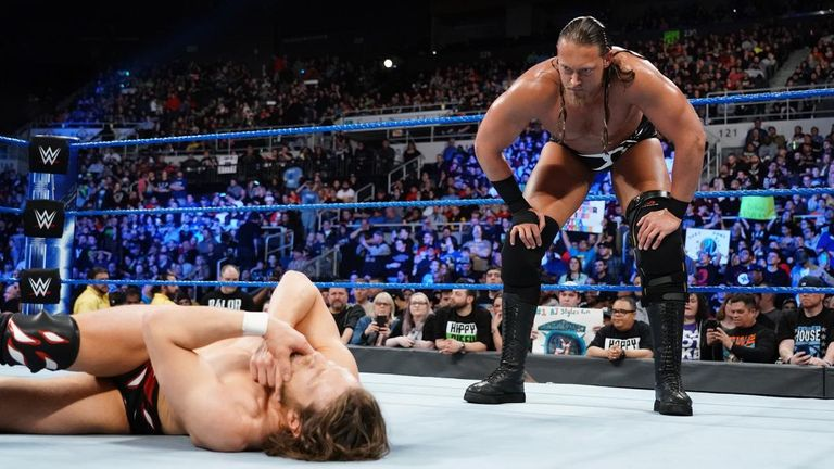 Big Cass has been overwhelmed by Daniel Bryan twice in succession
