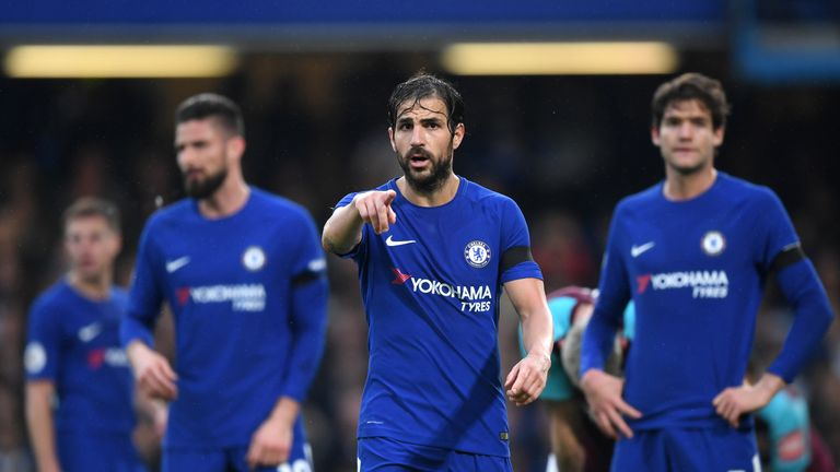 Chelsea finished the Premier League season in fifth place