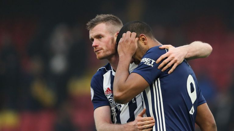 Chris Brunt has urged West Brom to build on Sunday's performance