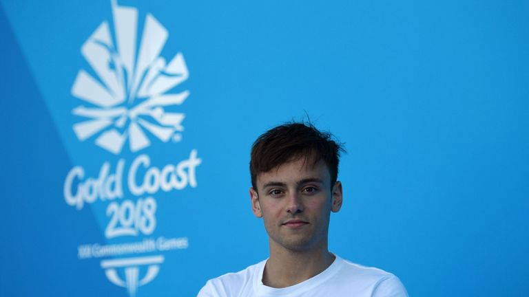 Tom Daley admits it will be scary to compete in Russia next month