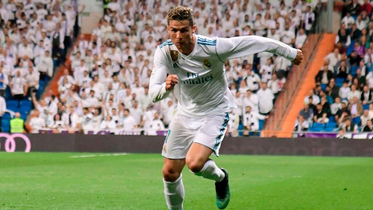 Cristiano Ronaldo will lead Real Madrid's attack at the Allianz Arena