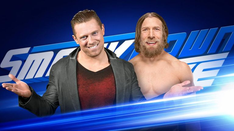 Daniel Bryan and The Miz, contract signing, two matches advertised