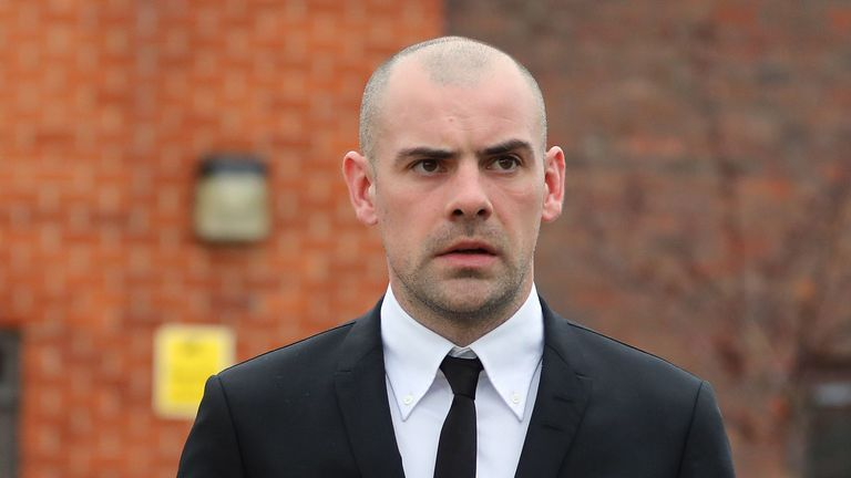 Darron Gibson appeared in court on Tuesday