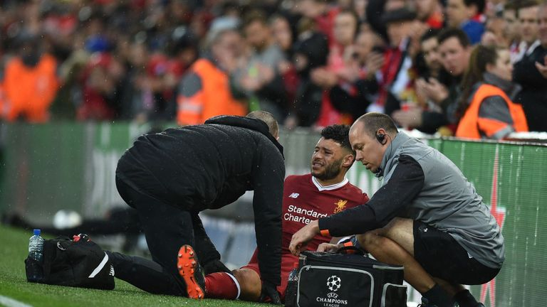 Image result for Alex Oxlade-Chamberlain Out for Season with Knee Injury, Jurgen Klopp Announces
