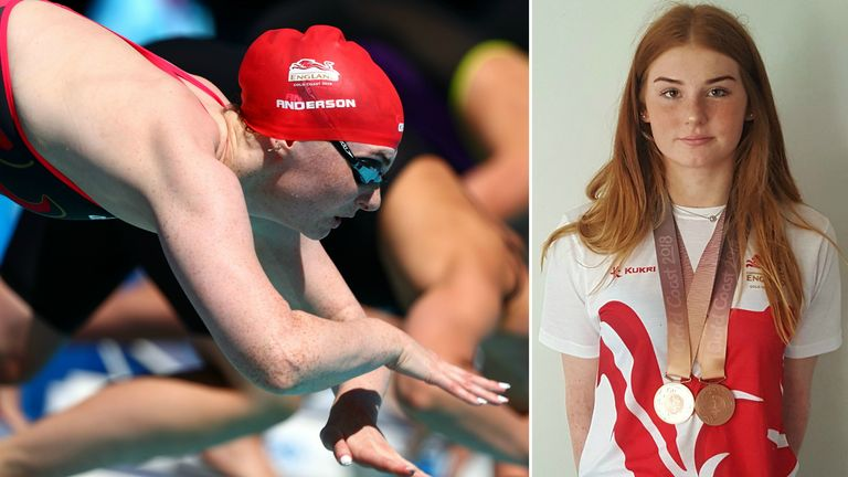 Freya Anderson enjoyed an action-packed Commonwealth Games