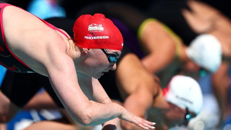 Freya Anderson enjoyed her Commonwealth Games debut