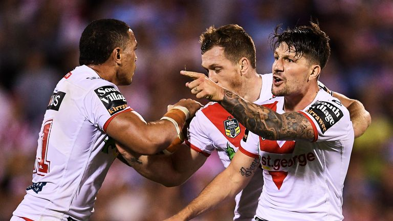 St George Illawarra Dragons are in sensational NRL form