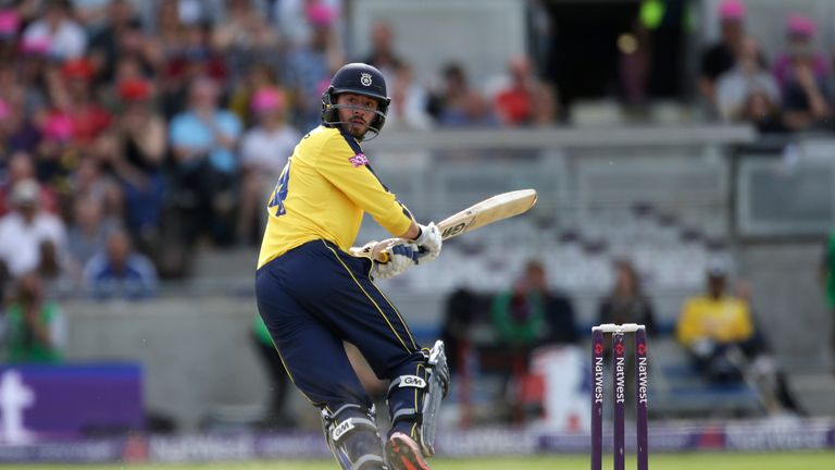 Dominic is tipping Hampshire to win the Vitality Blast