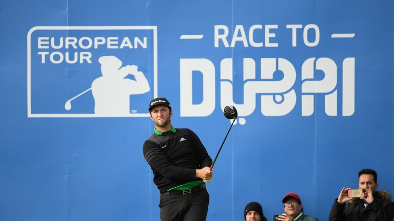 Jon Rahm admitted he played better than he expected after flying in from Augusta