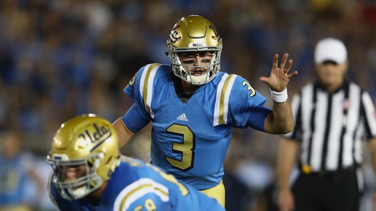 Cardinals select QB Josh Rosen at No. 10 after trade with Raiders