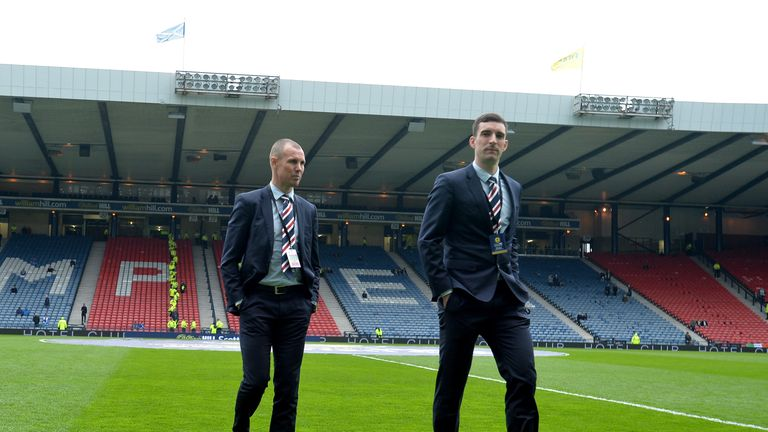 Rangers suspend Kenny Miller and Lee Wallace following bust-up