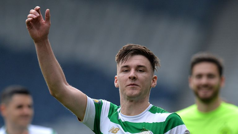 Kieran Tierney has been scouted by a string of top clubs in the Premier League