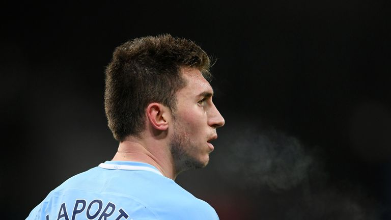 Aymeric Laporte was a £57m signing from Athletic Bilbao in January