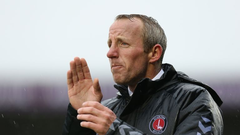 Lee Bowyer will be looking to guide Charlton into the Sky Bet League One play-offs on Sunday