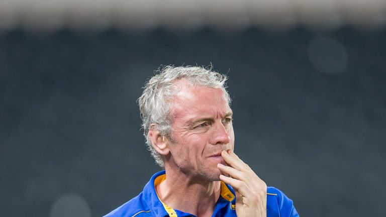 McDermott has cut a dejected figure, but led Leeds out of similar troubles before