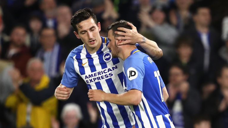 Pascal Gross equalised from the spot