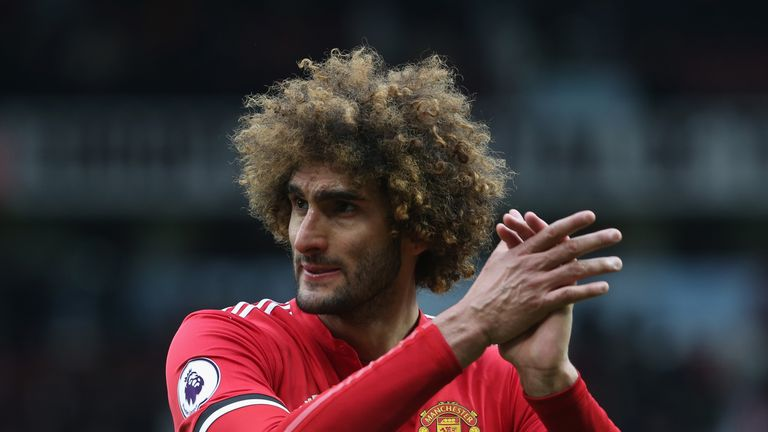 Marouane Fellaini's contract expires this summer