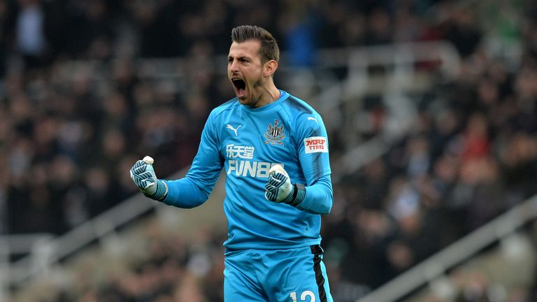 Martin Dubravka is set to join Newcastle in a deal worth £4m