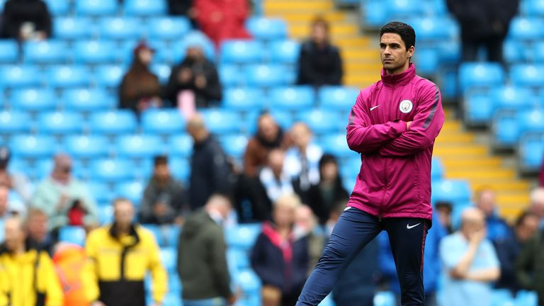 Mikel Arteta is currently the leading candidate and spoke to the club on Thursday